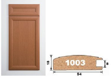 Мебельный профиль МДФ AGT