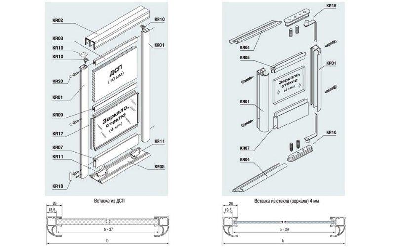 Дверная система «RAMIR»